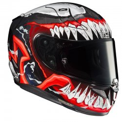 KASK HJC R-PHA-11 VENOM 2 BLACK/RED