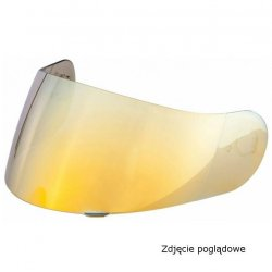 SZYBA HJC HJ26 RST GOLD PINLOCK PREPARED (DO...
