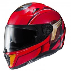 KASK HJC I70 THE FLASH DC COMICS RED