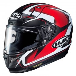 KASK HJC R-PHA-11 BLUDOM BLACK/RED/WHITE