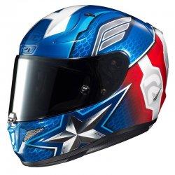 KASK HJC R-PHA-11 CAPTAIN AMERICA BLUE/RED