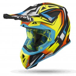 KASK AIROH AVIATOR 2.3 AMS2 FAME YELLOW GLOSS