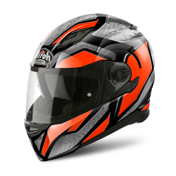 KASK AIROH MOVEMENT S STEEL ORANGE GLOSS