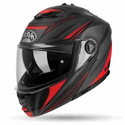 KASK AIROH PHANTOM S TRIPLO RED MATT