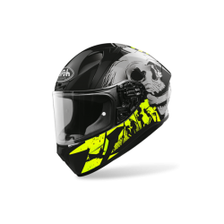 KASK AIROH VALOR AKUNA YELLOW MATT