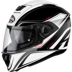 KASK AIROH STORM SPRINTER WHITE GLOSS