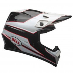 KASK BELL MX-9 MIPS STRYKER BLACK/WHITE