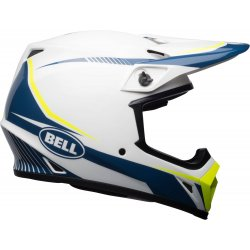 KASK BELL MX-9 MIPS TORCH WHITE/BLUE/YELLOW
