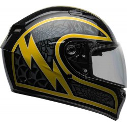 KASK BELL QUALIFIER SCORCH BLACK/GOLD FLA