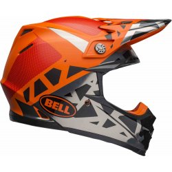 KASK BELL MOTO-9 MIPS TREMOR BLACK/ORANGE/CHROME