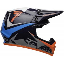 KASK BELL MX-9 MIPS SEVEN IGNITE NAVY/CORAL