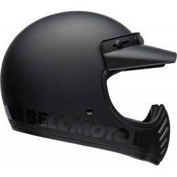 KASK BELL MOTO-3 BLACKOUT MATT/GLOSS BLACK