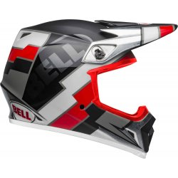 KASK BELL MX-9 MIPS TWITCH BLACK/RED