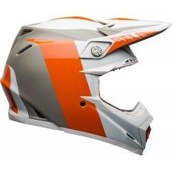 KASK BELL MOTO-9 FLEX DIVISION WHITE/ORANGE/SAND