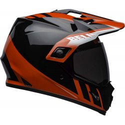 KASK BELL MX-9 ADVENTURE MIPS DASH BLACK/RED/WHITE