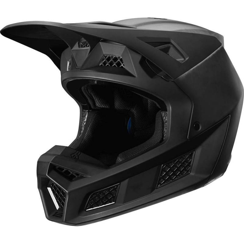 KASK FOX V-3 COMPOSITE SOLID MATTE BLACK