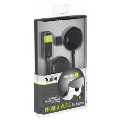 Intercom TWIINS HF 3.0 INTERCOM, komplet na 1 kask