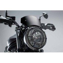 SZYBA MOTOCYKLOWA SUZUKI SV650 ABS (15-) BLACK