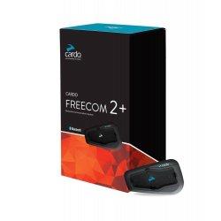 Intercom Cardo Freecom 2+ do komunikacji między motocyklistami