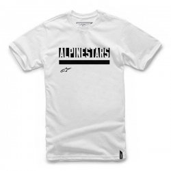 Koszulka STATED ALPINESTARS biała `S