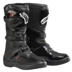 Buty Alpinestars MX TECH 3S KIDS`10 blk czarne