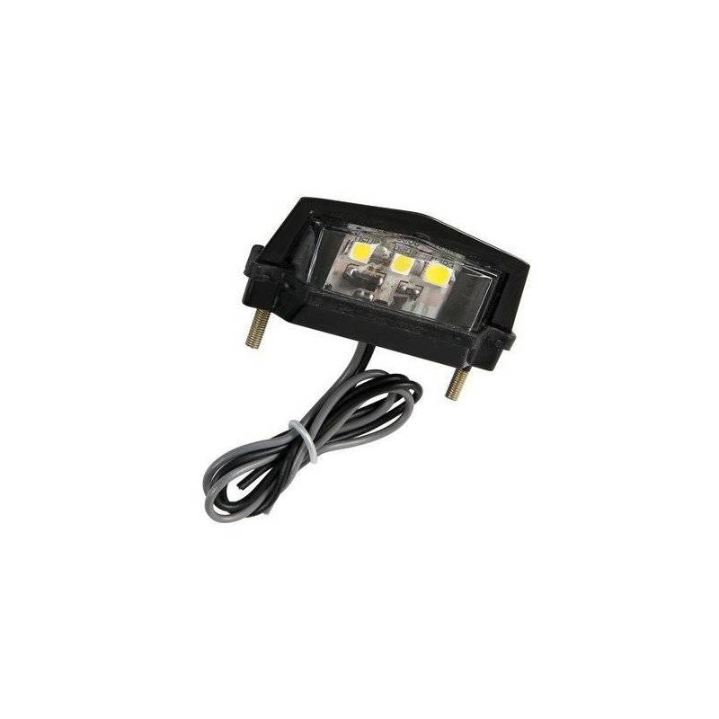 3 punktowe oświetlenie tablicy rejestracyjnej LED-SMD Lampa, białe