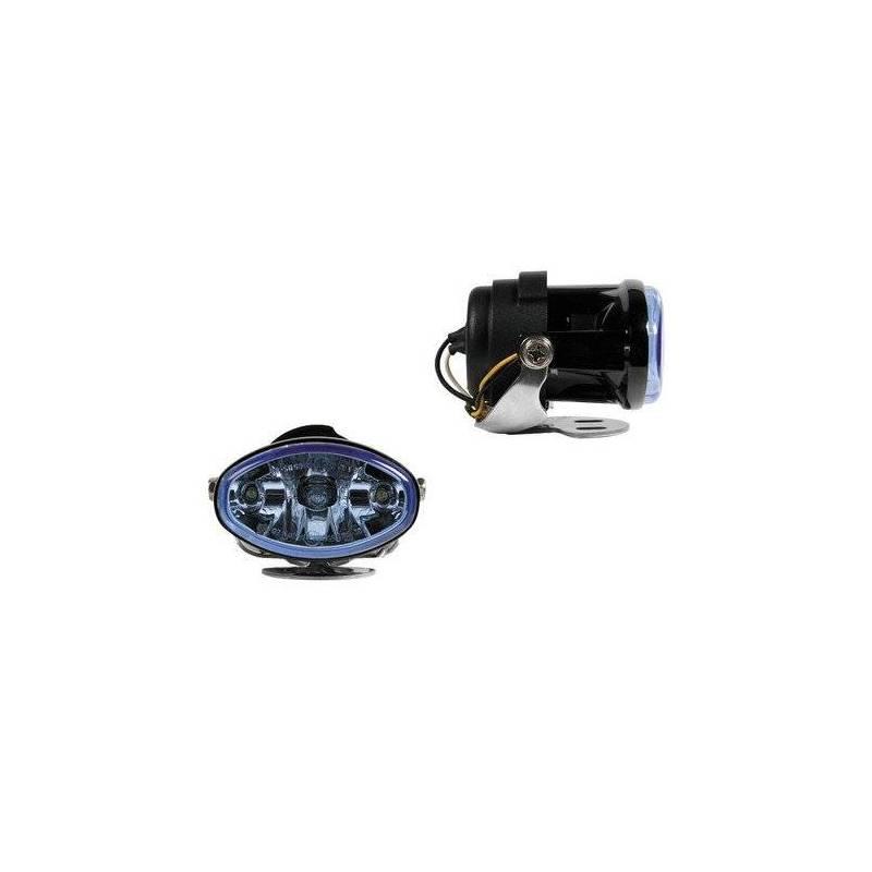 Lampa Felix, Zaawansowany technologiczny wielopowierzchniowy reflektor, niebieska soczewka, białe światło