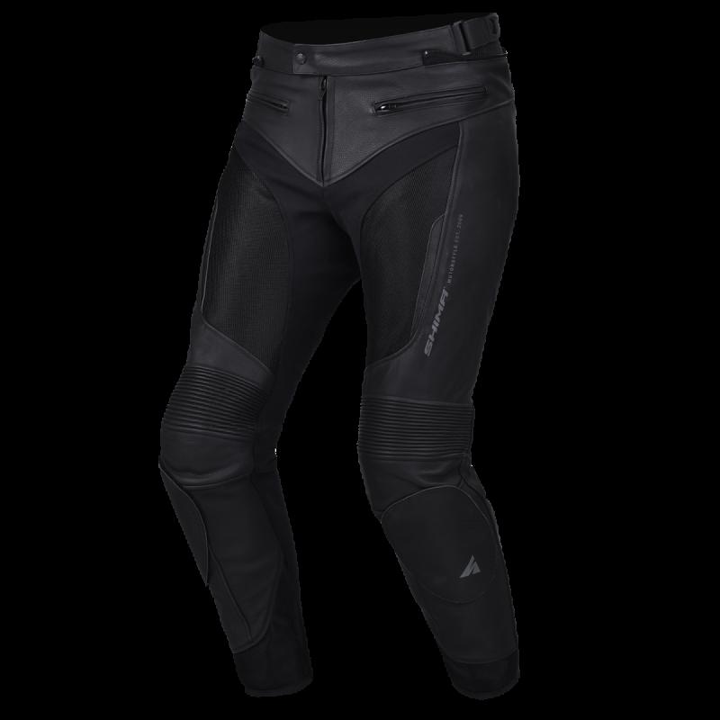 Spodnie skórzano-tekstylne SHIMA PISTON