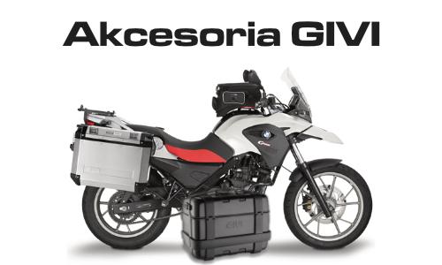 Akcesoria motocyklowe GIVI