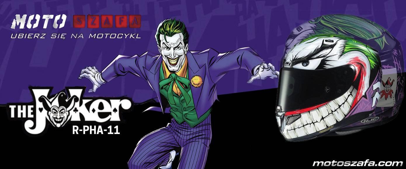 Nowość prosto z gotham. Kask HJC RPHA11 Joker.